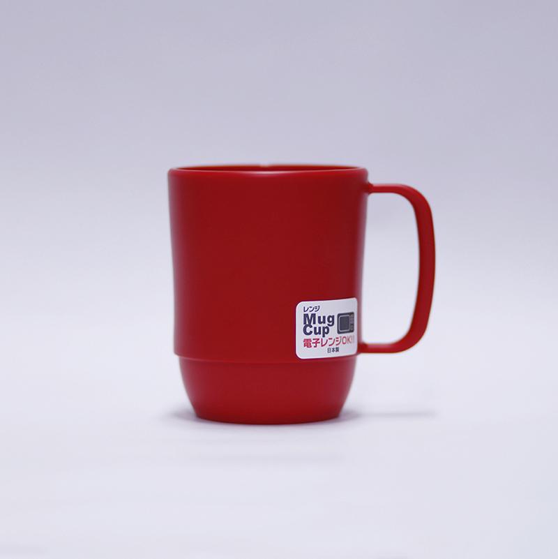 Cốc nhựa Range Mug Cup - Màu đỏ