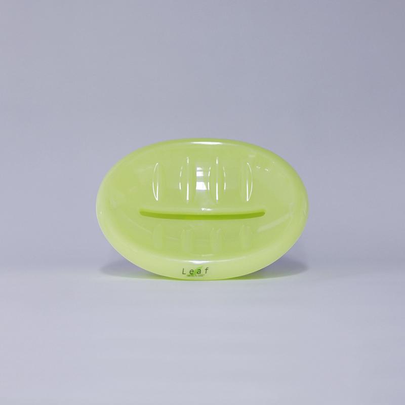 Khay đựng xà phòng Leaf No.2100 - Màu xanh lá cây
