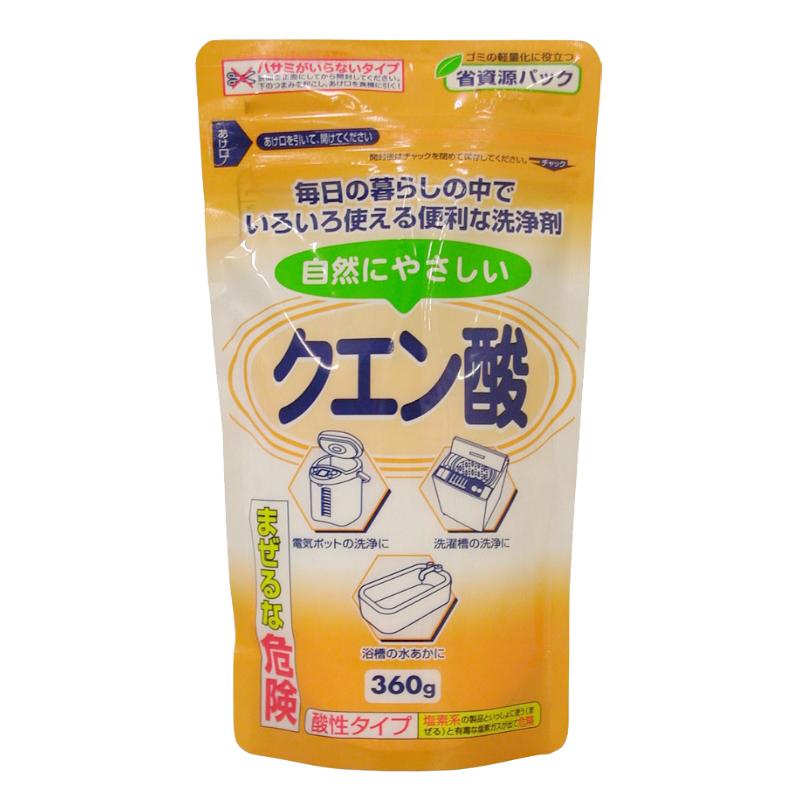 Chất tẩy rửa đa năng Axit citric 360g