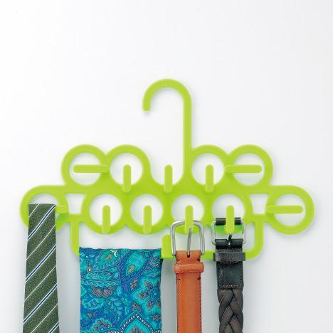 Móc treo cà vạt, phụ kiện - Màu xanh